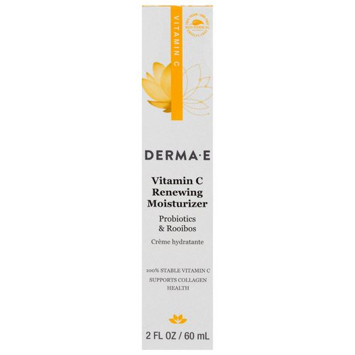 Derma E, Vitamin C Renewing Moisturizer, Probiotics & Rooibos, 2 fl oz (60 ml) Review