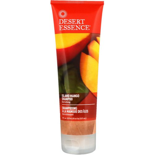Desert Essence, Shampoo, Enriching Island Mango, 8 fl oz (237 ml) Review