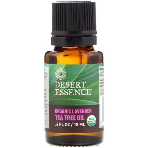 Desert Essence, Organic Lavender Tea Tree Oil, .6 fl oz (18 ml) Review