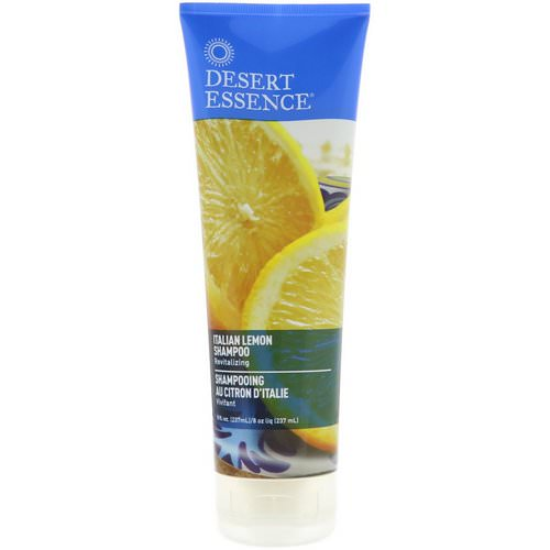 Desert Essence, Shampoo, Italian Lemon, 8 fl oz (237 ml) Review