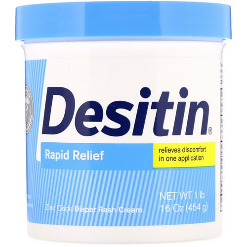 Desitin, Rapid Relief Cream, 16 oz (453 g) Review