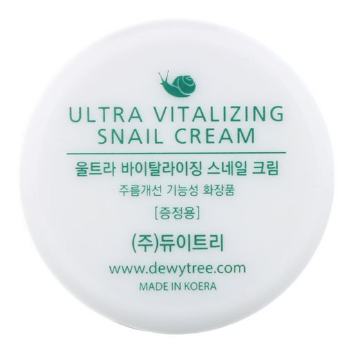 Dewytree, Ultra Vitalizing Snail Cream, 10 ml Review