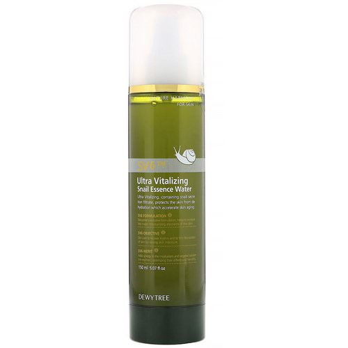 Dewytree, Ultra Vitalizing Snail Essence Water, 5.07 fl oz (150 ml) Review