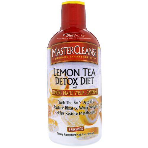 DietWorks, MasterCleanse, Lemon Tea Detox Diet, 32 fl oz (946 ml) Review