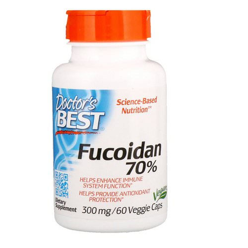 Doctor's Best, Best Fucoidan 70%, 60 Veggie Caps Review