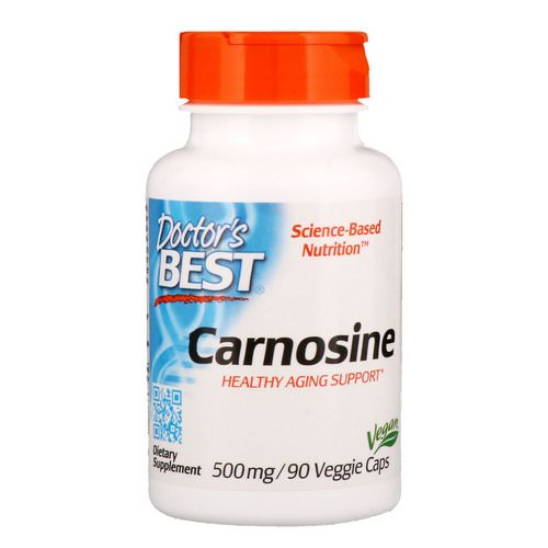 Doctor's Best, Carnosine, 500 mg, 90 Veggie Caps Review