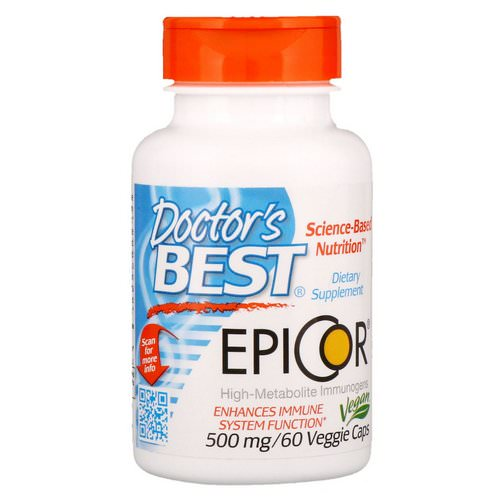 Doctor's Best, Epicor, 500 mg, 60 Veggie Caps Review