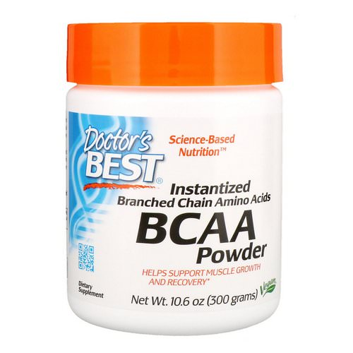 Doctor's Best, Instantized BCAA Powder, 10.6 oz (300 g) Review