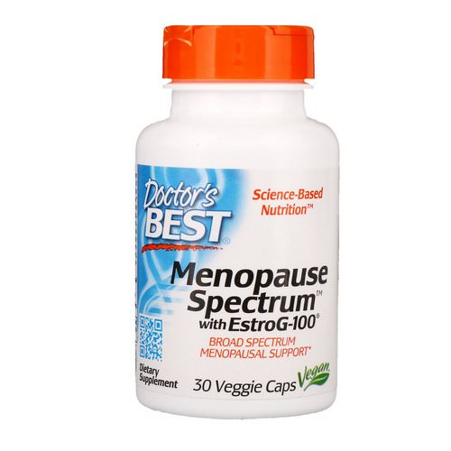 Doctor's Best, Menopause Spectrum with EstroG-100, 30 Veggie Caps Review