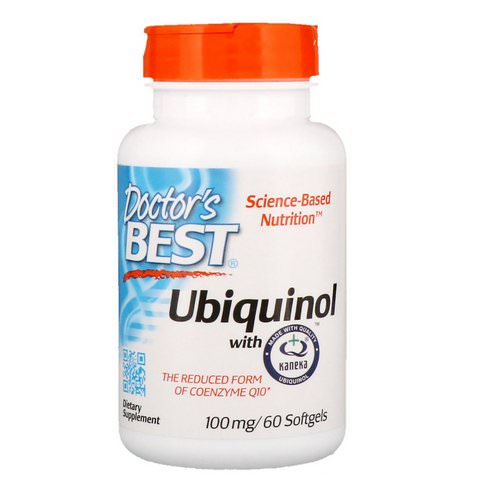 Doctor's Best, Ubiquinol with Kaneka, 100 mg, 60 Softgels Review