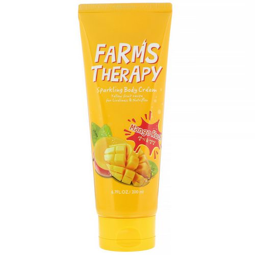 Doori Cosmetics, Farms Therapy, Sparkling Body Cream, Mango Rush, 6.7 fl oz (200 ml) Review