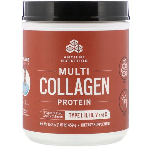 Dr. Axe / Ancient Nutrition, Multi Collagen Protein Powder, 1.01 lb (459 g) Review