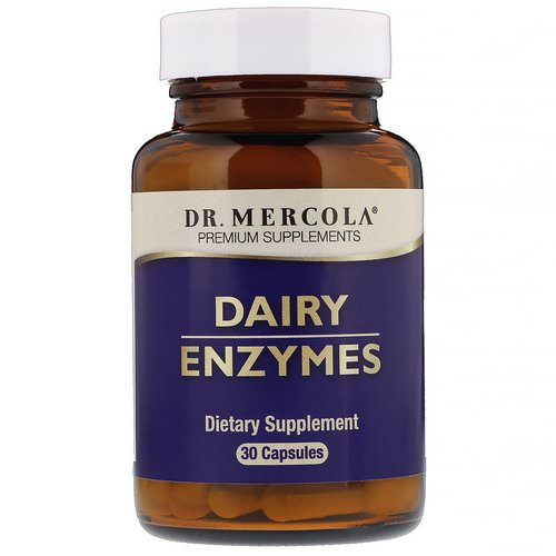 Dr. Mercola, Dairy Enzyme, 30 Capsules Review