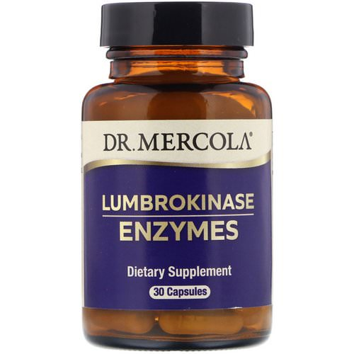 Dr. Mercola, Lumbrokinase Enzymes, 30 Capsules Review
