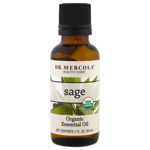 Dr. Mercola, Organic Essential Oil, Sage, 1 oz (30 ml) Review