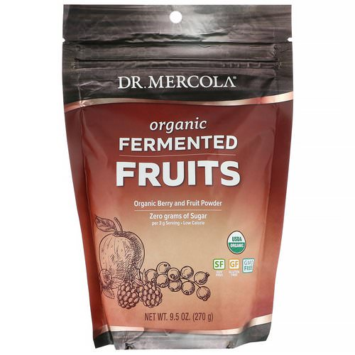 Dr. Mercola, Organic Fermented Fruits, 9.5 oz (270 g) Review