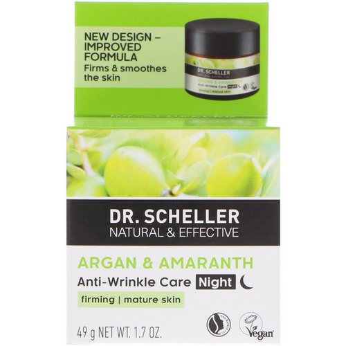 Dr. Scheller, Anti-Wrinkle Care, Night, Argan & Amaranth, 1.7 oz (49 g) Review