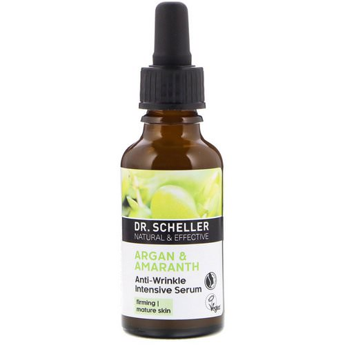 Dr. Scheller, Anti-Wrinkle Intensive Serum, Argan & Amaranth, 1.0 fl oz (30 ml) Review