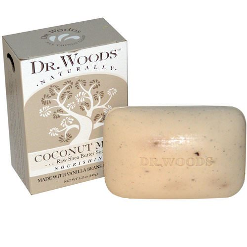 Dr. Woods, Raw Shea Butter Soap, Coconut Milk, 5.25 oz (149 g) Review