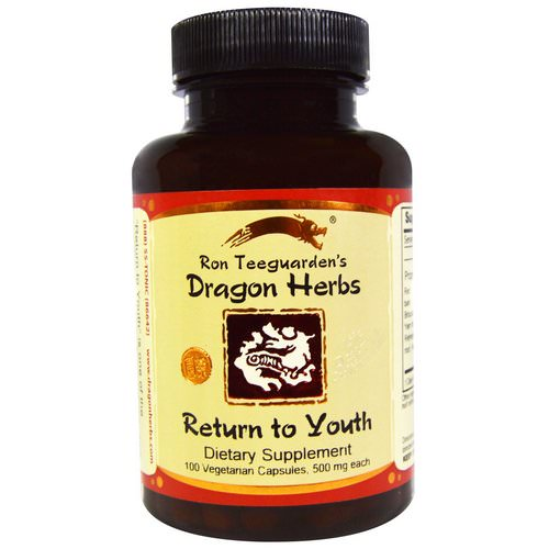 Dragon Herbs, Return to Youth, 500 mg, 100 Veggie Caps Review