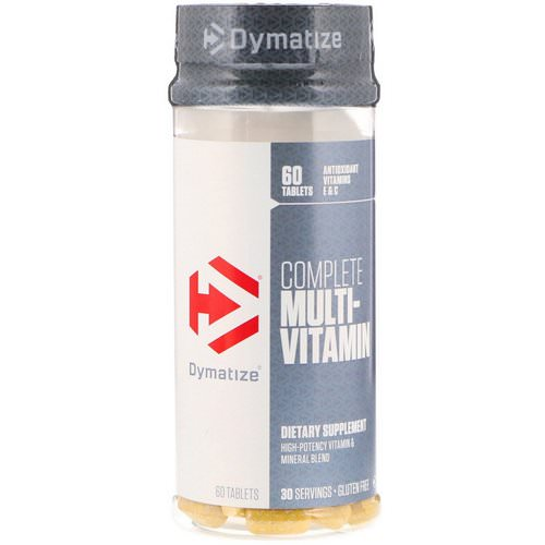 Dymatize Nutrition, Complete Multi-Vitamin, 60 Tablets Review