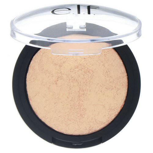 E.L.F, Baked Highlighter, Apricot Glow, 0.17 oz (5 g) Review