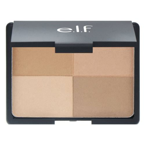 E.L.F, Bronzer, Golden, 4 Shades, 0.53 oz (15 g) Review