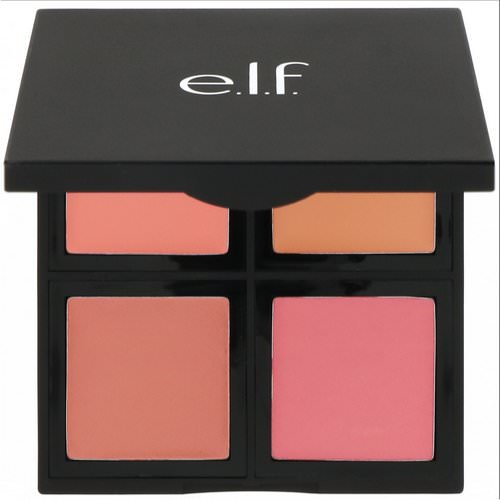 E.L.F, Cream Blush Palette, Soft, 0.43 oz (12.4 g) Review