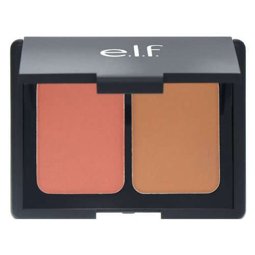 E.L.F, Matte Contouring Blush & Bronzing Powder, Fiji, 0.30 oz (8.4 g) Review