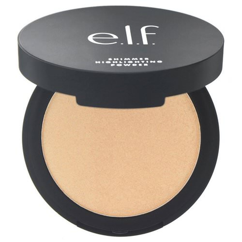 E.L.F, Shimmer Highlighting Powder, Sunset Glow, 0.28 oz (8 g) Review