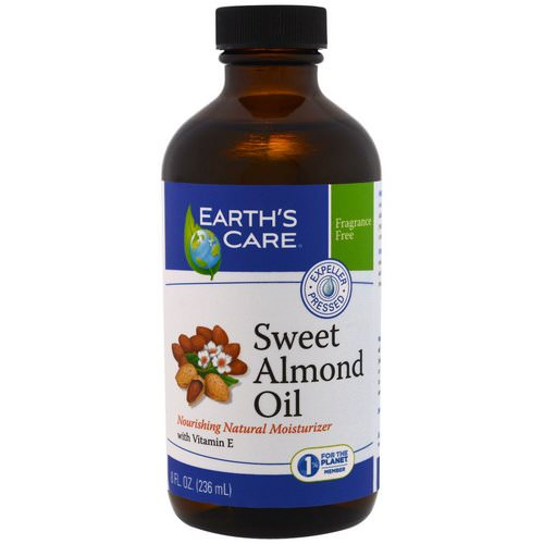 Earth's Care, Sweet Almond Oil, 8 fl oz (236 ml) Review