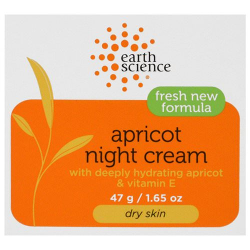 Earth Science, Apricot Night Cream, 1.65 oz (47 g) Review