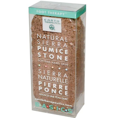 Earth Therapeutics, Basics, Natural Sierra, Pumice Stone, 1 Stone Review