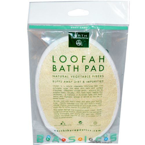 Earth Therapeutics, Loofah Bath Pad, 1 Pad Review