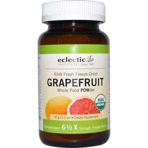 Eclectic Institute, Grapefruit POWder, Raw, 3.2 oz (90 g) Review