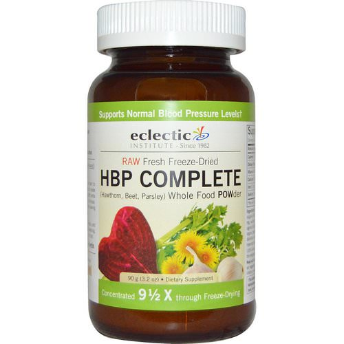 Eclectic Institute, HBP Complete, Whole Food POWder, 3.2 oz (90 g) Review