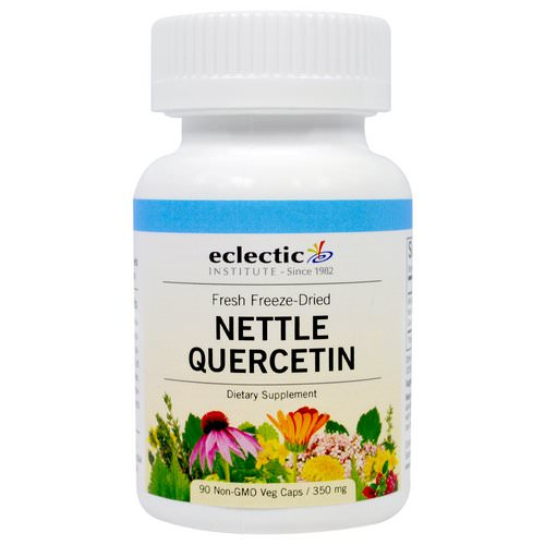Eclectic Institute, Nettle Quercetin, 350 mg, 90 Veggie Caps Review
