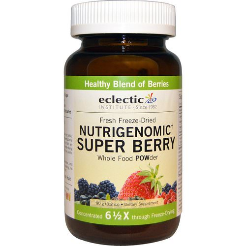 Eclectic Institute, Nutrigenomic Super Berry, Whole Food POWder, 3.2 oz (90 g) Review