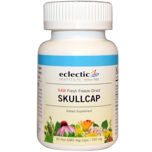 Eclectic Institute, Skullcap, 350 mg, 90 Non-GMO Veggie Caps Review