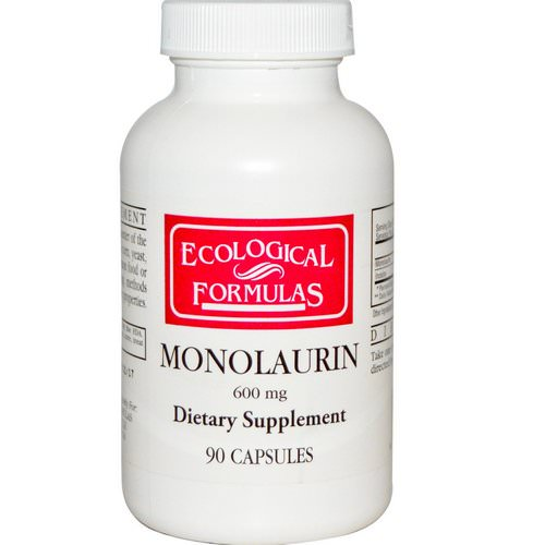 Ecological Formulas, Monolaurin, 600 mg, 90 Capsules Review