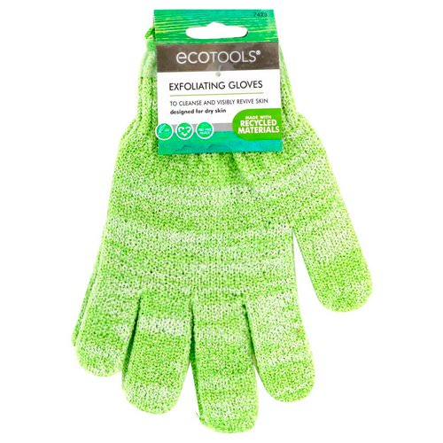 EcoTools, Exfoliating Gloves, 1 Pair Review