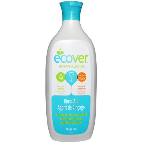 Ecover, Rinse Aid, 16 fl oz (473 ml) Review