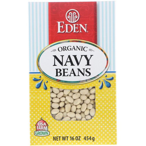 Eden Foods, Organic Navy Beans, 16 oz (454 g) Review