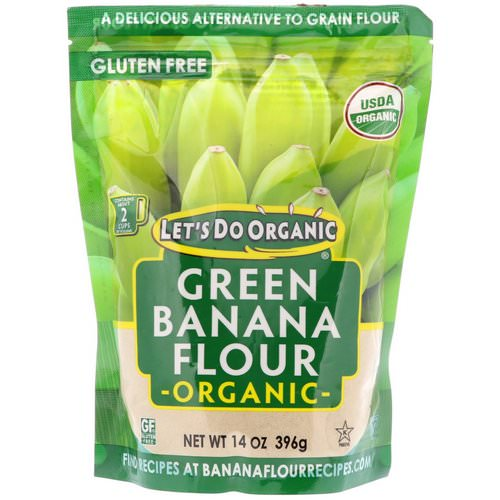 Edward & Sons, Let's Do Organic, Organic Green Banana Flour, 14 oz (396 g) Review