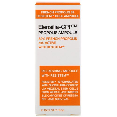 Elensilia, CPP Propolis Ampoule, 82% French Propolis, 0.51 fl oz (15 ml) Review