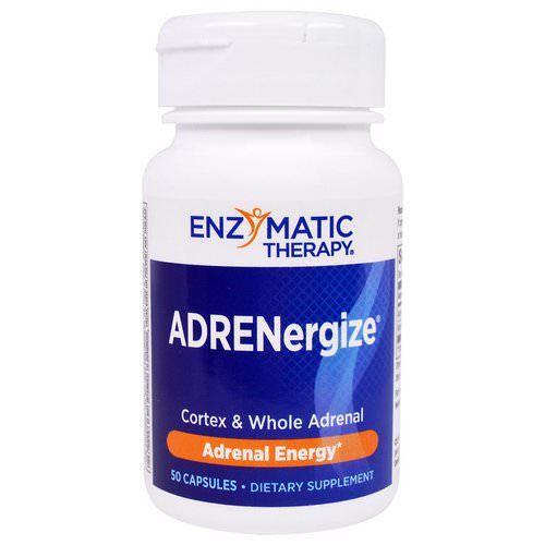 Enzymatic Therapy, ADRENergize, Adrenal Energy, 50 Capsules Review