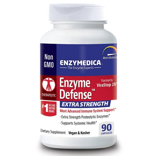 Enzymedica, Enzyme Defense (Formerly ViraStop), Extra Strength, 90 Capsules Review