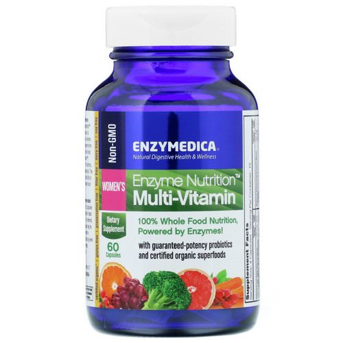 Enzymedica, Enzyme Nutrition Multi-Vitamin, Women's, 60 Capsules Review