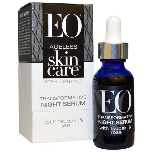 EO Products, Ageless Skin Care, Transformative Night Serum, 1 fl oz (30 ml) Review