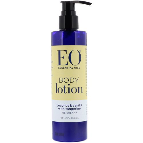 EO Products, Body Lotion, Coconut & Vanilla with Tangerine, 8 fl oz (236 ml) Review